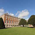 Sunny Day At Hampton Court Palace London Uk by Julia Gavin