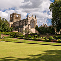 Sunny Day At Hexham Abbey by David Head