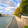 Sunny Day In Paris by Charuhas Images