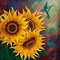 Sunny Faces by Deborah Heins