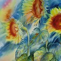 Sunny Flowers by Tara Moorman