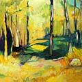 Sunny Meadow by Jillian Goldberg