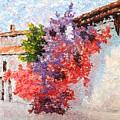 Sunny Morning In Greece by Sergei Kolesov