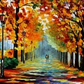 Sunny October by Leonid Afremov