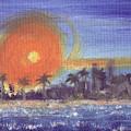 Sunny  Palms by Jorge Delara