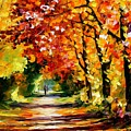 Sunny Path by Leonid Afremov
