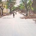 Sunny Road by Usha Shantharam