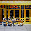 Sunny Side Of Bleecker by Lou Spina