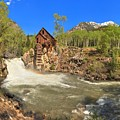 Sunny Skies Over The Crystal Mill by Adam Jewell