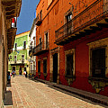 Sunny Street by Mexicolors Art Photography