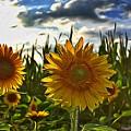 Sunny Sunflower by Raven Steel Design