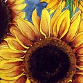 Sunny Sunflowers by Mary Gaines