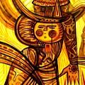 Sunny Warrior by Inga Vereshchagina