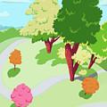 Sunnyside Park In The Spring by Little Bunny Sunshine