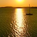 Sunrise 6 8 17 Malletts Bay by Mark Holden