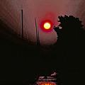 Sunrise 7 Over Lake Michigan  by Thomas Firak