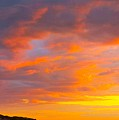 Sunrise And Clouds Over Pigeon Cove by Harriet Harding