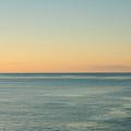 Sunrise And Serene Ocean by Gaspar Avila