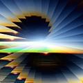 Sunrise At 30k  6 by Tim Allen