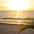 Sunrise At Akumal Sur 1 by Christopher Spicer
