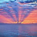 Sunrise At Atlantic Beach by Kerri Farley