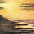 Sunrise At Crystal Beach by Randy Welborn