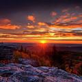 Sunrise At Dolly Sods At Bear Rocks by Dan Friend