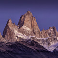 Sunrise At Fitz Roy Patagonia 7 by Timothy Hacker