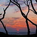 Sunrise At Fort Fisher by Paul Boroznoff