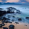Sunrise At Ho'okipa - Sunrise At Hookipa Beach In Maui by Nature  Photographer
