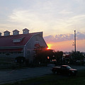 Sunrise At Hooper's Crab House by Robert Banach
