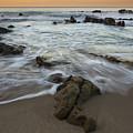 Sunrise At Laguna Beach by Keith Kapple
