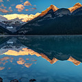 Sunrise At Lake Louise, Banff National Park, Alberta, Canada by Pierre Leclerc Photography