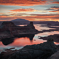 Sunrise At Lake Powell by James Udall