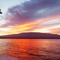 Sunrise At Ma'alaea Maui by David Olsen