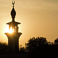 Sunrise At Mosque Of Tadjourah In Djibouti East Africa by Hiren Ranpara
