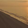 Sunrise At Myrtle Beach by Wayne Marsh