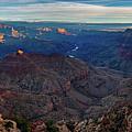 Sunrise At Navajo Point by John Hight