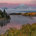 Sunrise At Oxbow Bend by Lynn Sprowl