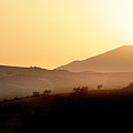 Sunrise At Pastelero Near Villanueva De La Concepcion Malaga Region Spain by Mal Bray