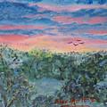 Sunrise At Quialigo by Alex Mortensen