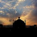 Sunrise At Rumi Gate by Atullya N Srivastava