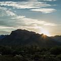 Sunrise At Sabino Canyon by Ray Sheley