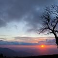 Sunrise At Saddle Overlook by Amy Jackson