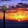 Sunrise At Sea Off The Delmarva Coast by Bill Swartwout Photography