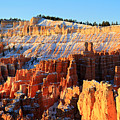Sunrise At Sunset Point In Bryce Canyon by Pierre Leclerc Photography