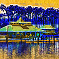 Sunrise At The Boat Dock by Kirt Tisdale