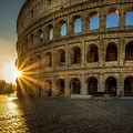 Sunrise At The Colosseum by Mike Houghton BlueMaxPhotography