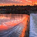 Sunrise At The Dam by Robert Pearson