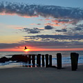 Sunrise At The Jersey Shore by Bob Cuthbert